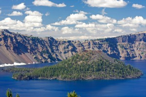 crater-lake lac aux USA